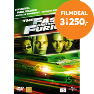 Produktbilde for The Fast And The Furious (DVD)