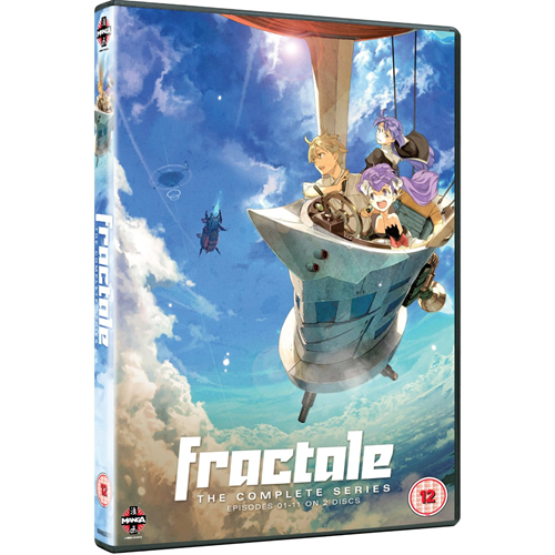 Fractale - The Complete Series (UK-import) (DVD)