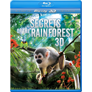 Secrets Of The Rainforest (UK-import) (Blu-ray 3D + Blu-ray)
