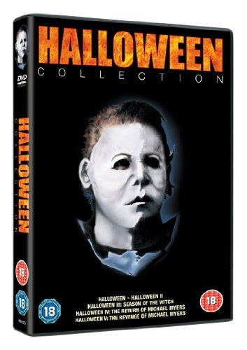 Halloween 1 - 5 Collection (UK-import) (DVD)