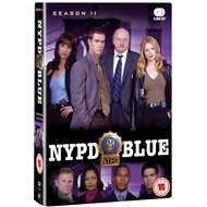 NYPD Blue - Sesong 11 (UK-import) (DVD)