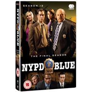 NYPD Blue - Sesong 12 (UK-import) (DVD)