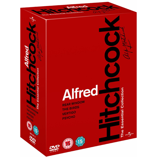 Alfred Hitchcock - The Essential Collection (UK-import) (DVD)
