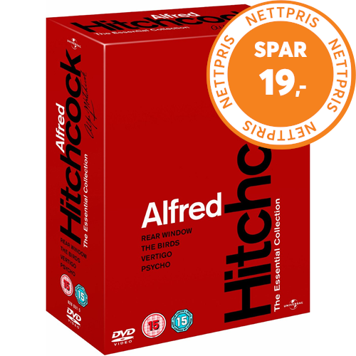 Alfred Hitchcock The Essential Collection Uk Import Dvd
