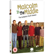 Malcolm In The Middle - Sesong 6 (UK-import) (DVD)