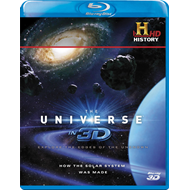 The Universe In 3D - How The Solar System Was Made (UK-import) (Blu-ray 3D)