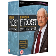 A Touch Of Frost - The Complete Collection (UK-import) (DVD)