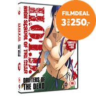 Produktbilde for High School Of The Dead - Drifters Of The Dead (UK-import) (DVD)
