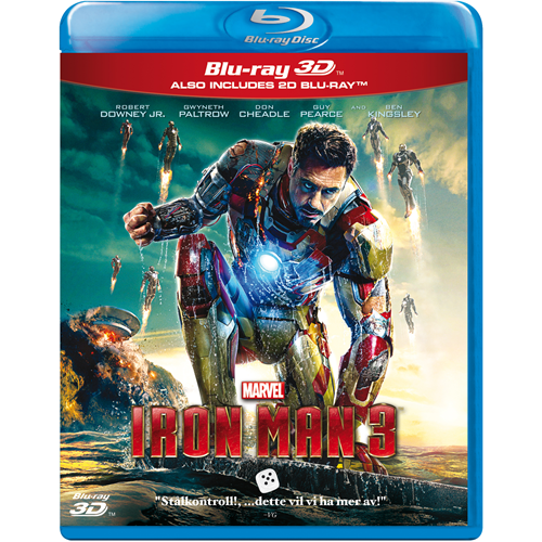 Iron Man 3 (Blu-ray 3D + Blu-ray)