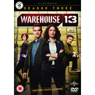 Warehouse 13 - Sesong 3 (UK-import) (DVD)