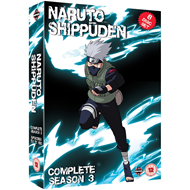 Naruto Shippuden - The Complete Series 3 (UK-import) (DVD)