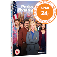 Parks And Recreation - Sesong 2 (UK-import) (DVD)