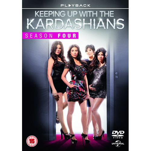 Keeping Up With The Kardashians - Sesong 4 (UK-import) (DVD)
