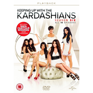 Keeping Up With The Kardashians - Sesong 6 (UK-import) (DVD)