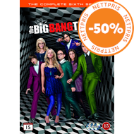 The Big Bang Theory - Sesong 6 (DVD)