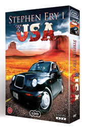 I Usa Med Stephen Fry (DVD)