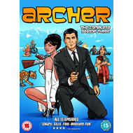 Archer - Sesong 3 (UK-import) (DVD)