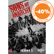 Produktbilde for Sons Of Anarchy - Sesong 5 (DVD)