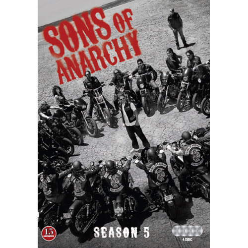 Sons Of Anarchy - Sesong 5 (DVD)