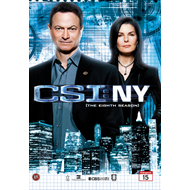CSI - New York - Sesong 8 (DVD)