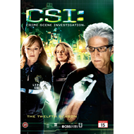 CSI - Crime Scene Investigation - Sesong 12 (UK-import) (DVD)