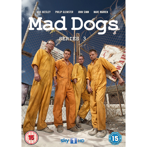 Mad Dogs - Sesong 3 (UK-import) (DVD)