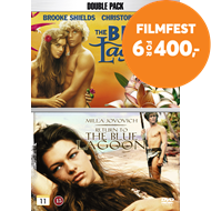 Produktbilde for The Blue Lagoon / Return To The Blue Lagoon (DK-import) (DVD)