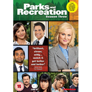 Parks And Recreation - Sesong 3 (UK-import) (DVD)