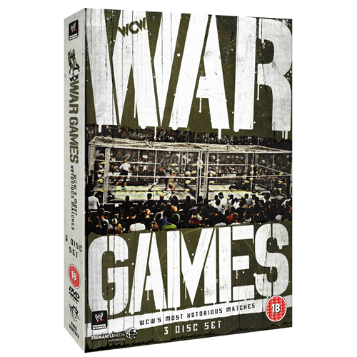 War Games - WCW's Most Notorious Matches (UK-import) (DVD)