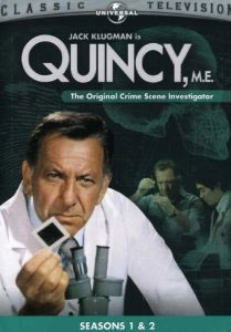 Quincy, M.E. - Sesong 1 & 2 (DVD - SONE 1)
