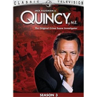 Quincy, M.E. - Sesong 3 (DVD - SONE 1)