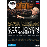 Daniel Barenboim - Beethoven: Symphonies Nos. 1-9 - Live From The 2012 BBC Proms (DVD)