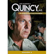 Quincy, M.E. - Sesong 6 (DVD - SONE 1)