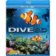 Dive - Vol. 1 (UK-import) (Blu-ray 3D + Blu-ray)