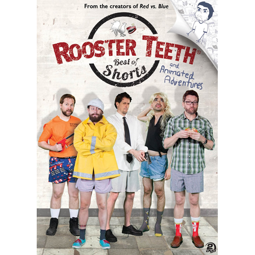 Rooster Teeth - Best Of Shorts And Animated Adventures (DVD - SONE 1)