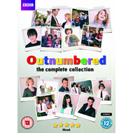 Outnumbered - Sesong 1 - 5 (UK-import) (DVD)