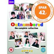 Produktbilde for Outnumbered - Sesong 1 - 5 (UK-import) (DVD)