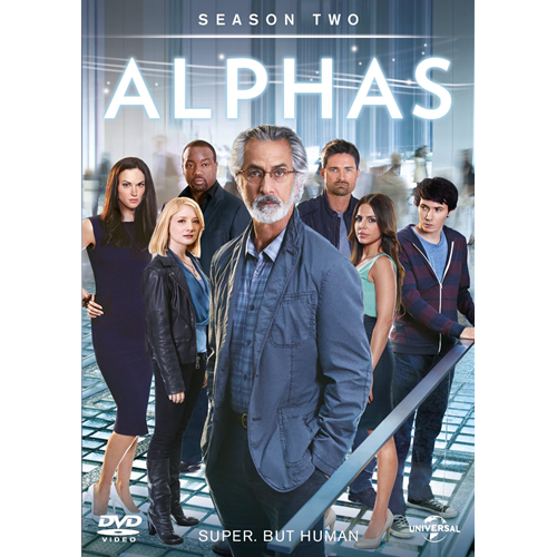 Alphas - Sesong 2 (UK-import) (DVD)