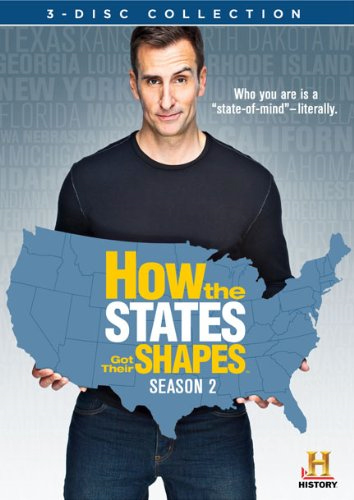 How The States Got Their Shapes - Sesong 2 (DVD - SONE 1)