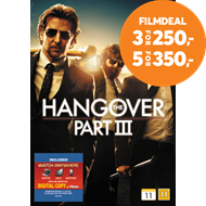 Produktbilde for The Hangover - Part III (DVD)