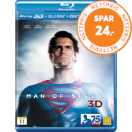 Man Of Steel (Blu-ray 3D + Blu-ray)