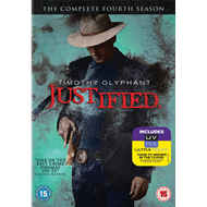 Justified - Sesong 4 (UK-import) (DVD)
