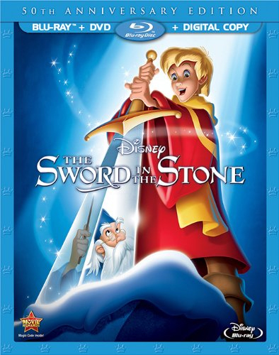 The Sword In The Stone -  50th Anniversary Edition (Blu-ray + DVD)