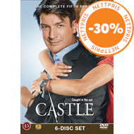 Produktbilde for Castle - Sesong 5 (DVD)