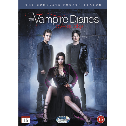 The Vampire Diaries - Sesong 4 (DVD)