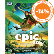 Produktbilde for Epic (Blu-ray 3D + Blu-ray + DVD)