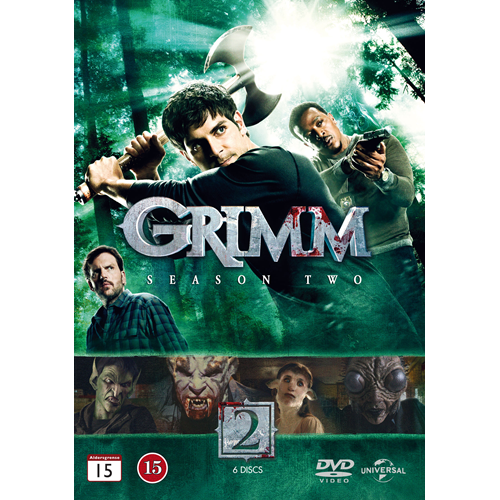 Grimm - Sesong 2 (DVD)