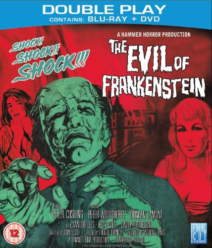 The Evil Of Frankenstein (UK-import) (Blu-ray + DVD)