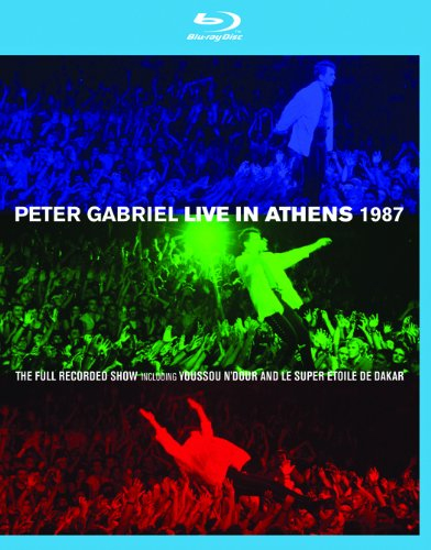 Peter Gabriel - Live In Athens 1987 (Blu-ray+DVD)