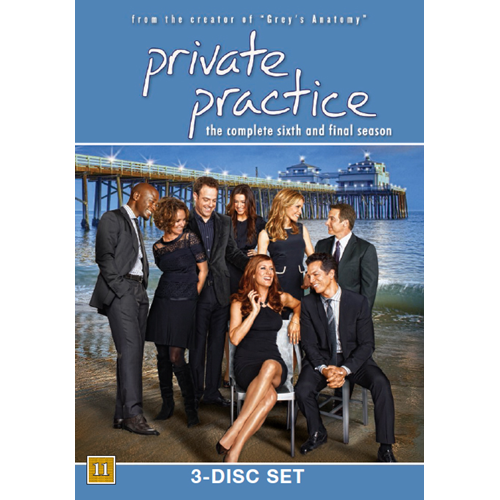 Private Practice - Sesong 6 (UK-import) (DVD)